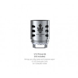 Smok X6 head for TFV12 Prince - 0.15ohm - 3pcs