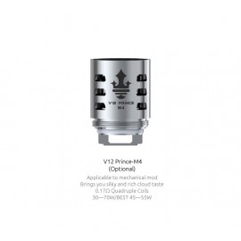 Smok M4 head for TFV12 Prince - 0.17ohm - 3pcs