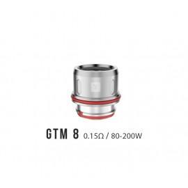 Vaporesso resistenza GTM8 per Cascade Clearomizzatore - 3pz