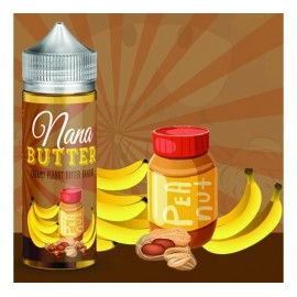 Voop Juice Nana Butter by ButtaBeer Mix and Vape - 100ml