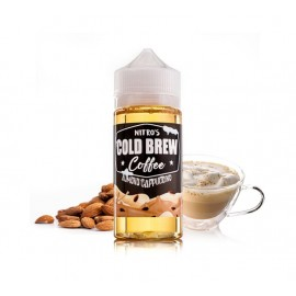 Nitro's Cold Brew Almond Cappuccino Mix and Vape - 100ml