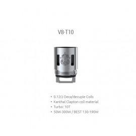 Smok head V8-T10 for TFV8 - 0.12ohm - 3pcs
