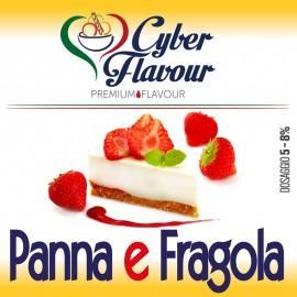 Cyber Flavour Aroma Panna e Fragola - 10ml